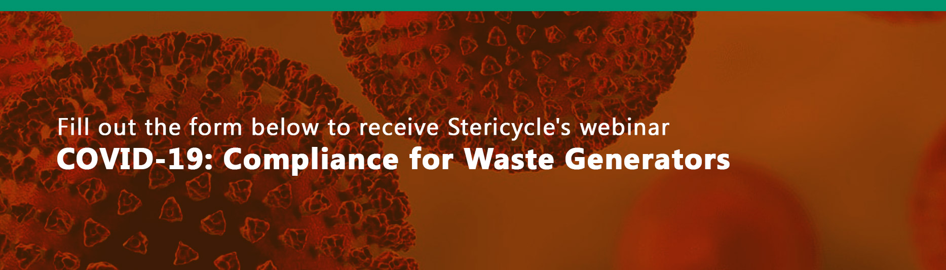 Fill out the form below to register for: Coronavirus Waste Management - Facts Not Fear